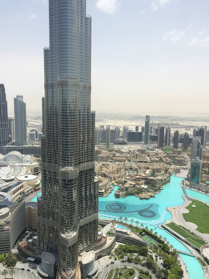Spectacular 3 BR + Maids full Burj Khalifa view