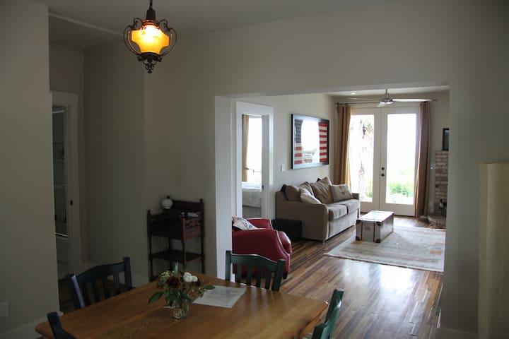 Dinning room - looking through living room