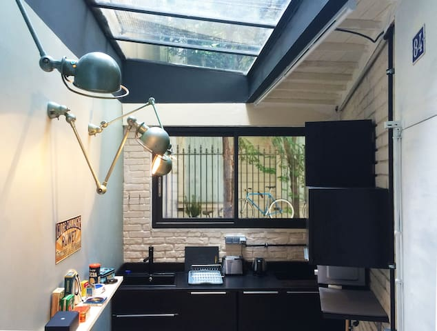 Mini loft in the center of Paris - Paris - Apartemen