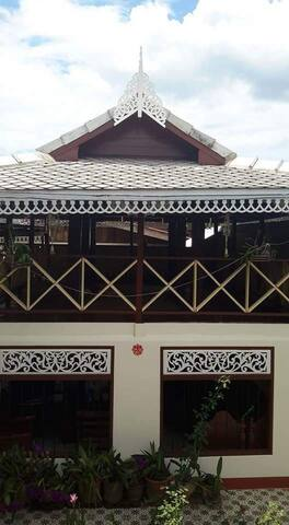 เฮือนแม่อุ๊ยปาโฮมสเตย์ - Tambon Ban Mae - Rumah