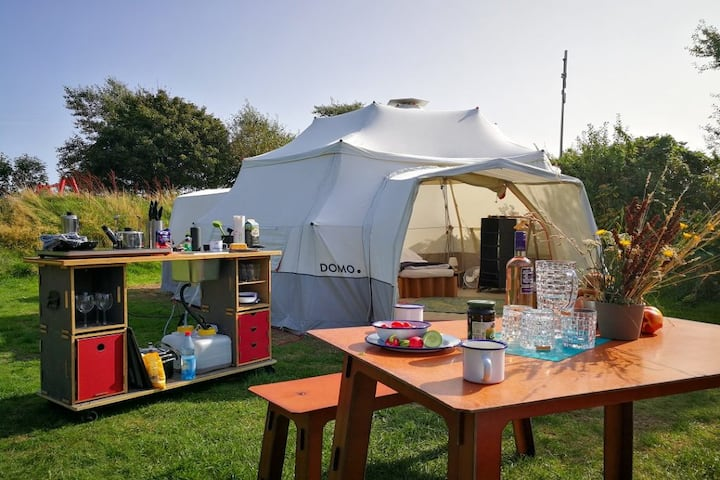 DOMO CAMP SYLT - DOMO Glamping tent for 5P