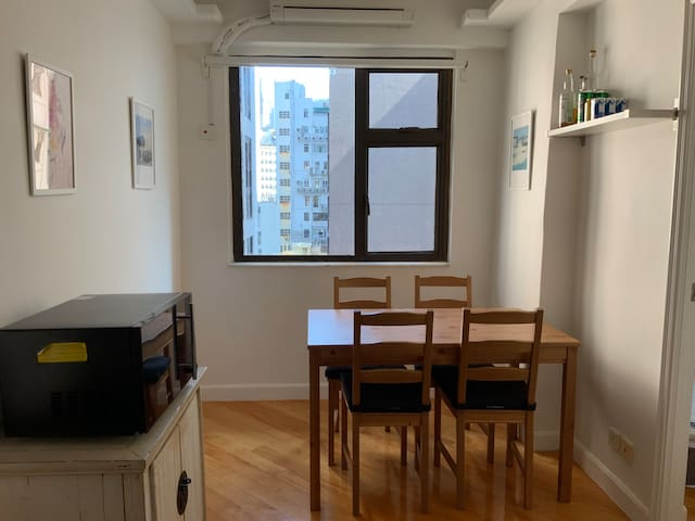 Modern, clean private apartment, 1 min Central MTR