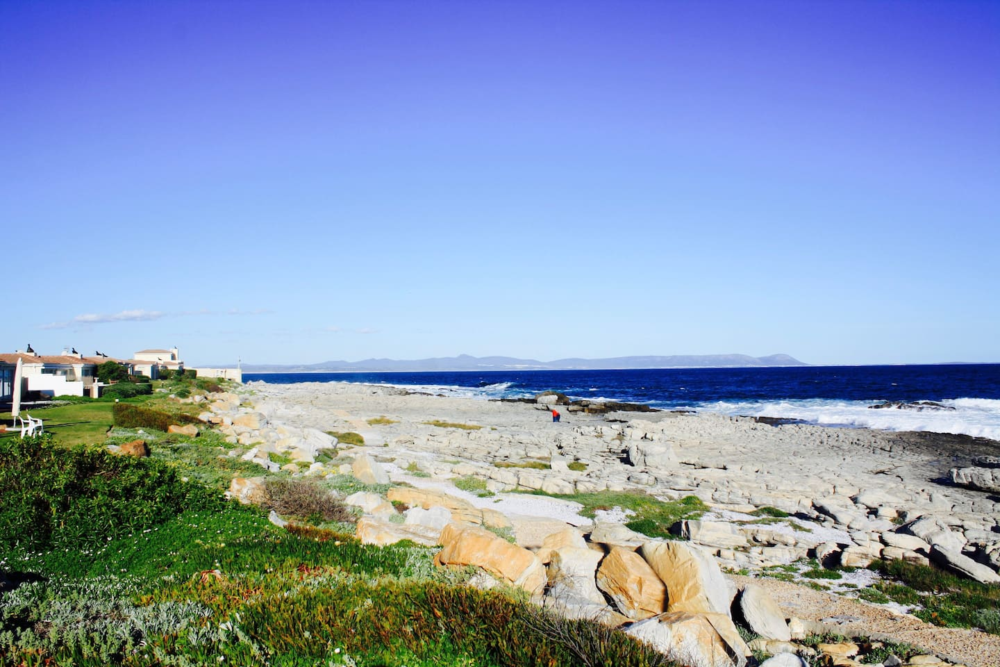Cliff path inside Hermanus Beach Club