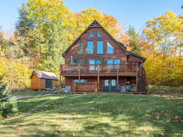 Stunning Bethel Mountain Chalet 15 minutes to Sunday River