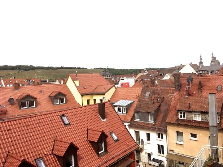 Im Herzen Würzburgs: Ruhiges & kleines Apartement