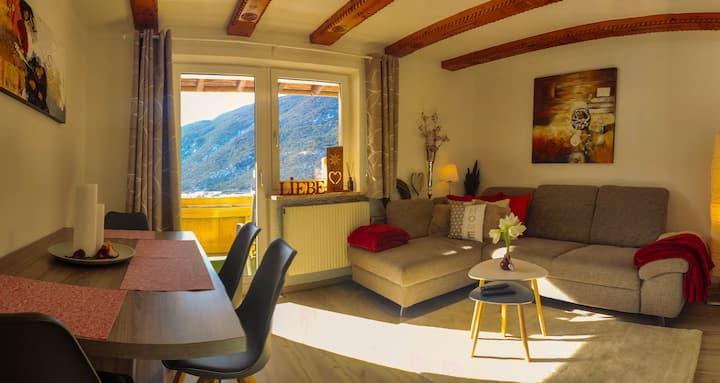 Gemütliche Wohnung mit wundervoller Aussicht