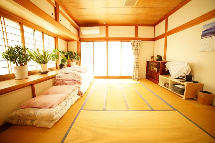 Traditional Japanese house, free pick-up service
