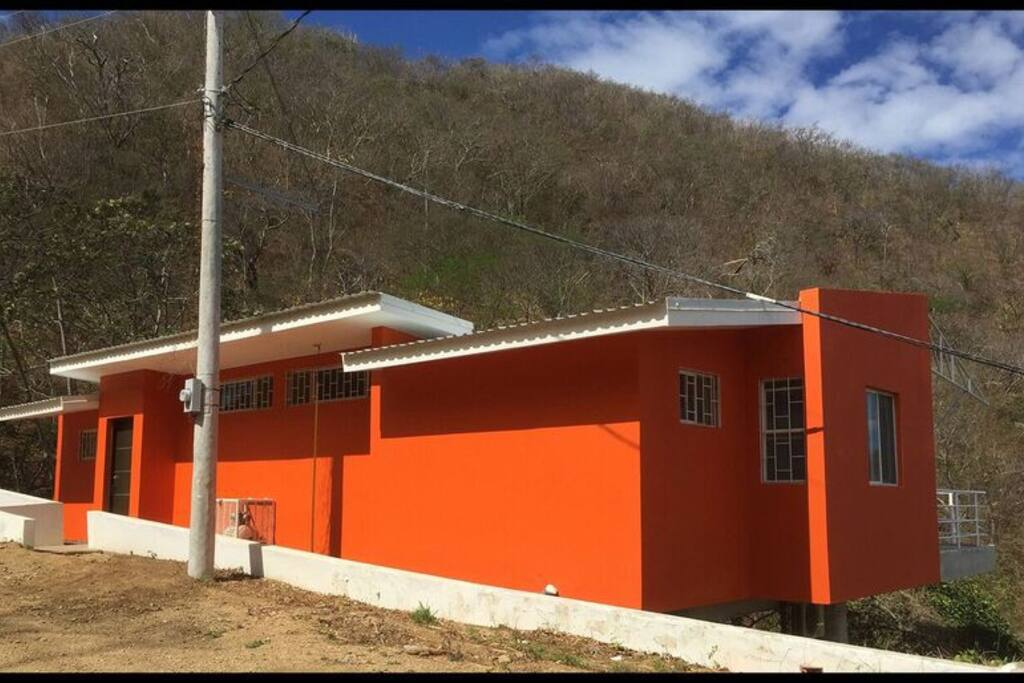 Orange House - side view
