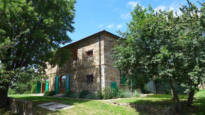 Rosmarino, beautiful Tuscan farmhouse with view