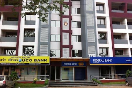 2BHK Modern Apartment at Kinnigoli @ Golden Castle - Kinnigoli - Apartament