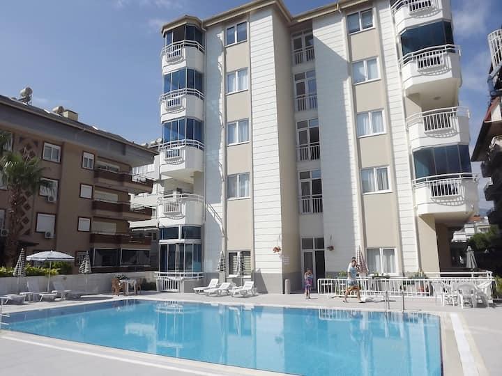 Oba Beach Residence апартаменты  1+1 у моря!