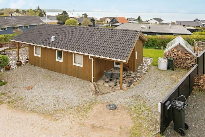 Ruhiges Ferienhaus in Jütland Dänemark mit Garten