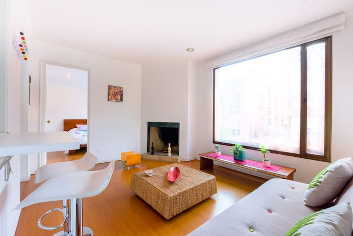 Offer apt 93 Park cozy & exclusive! - Bogotá - Apartamento