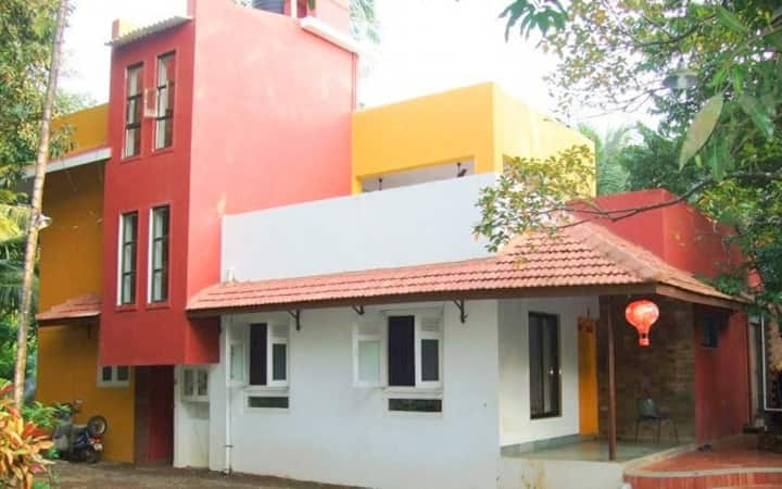 Bungalow for group accommodation in Alibaug