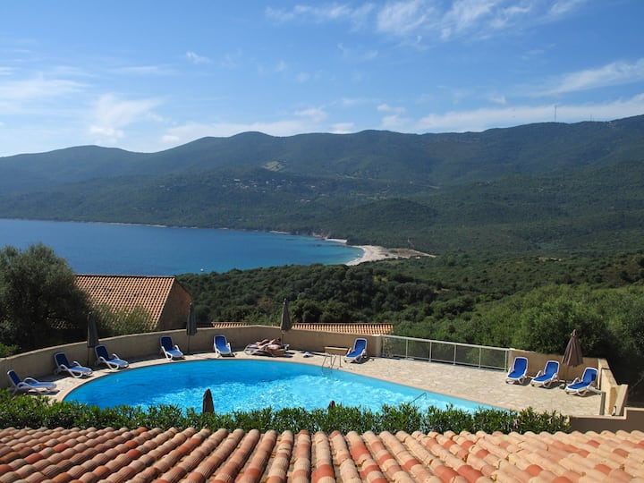 6-person Apartment, 3* residence, heated pool