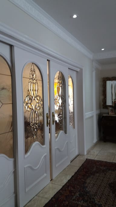 Porta para Sala de Jantar