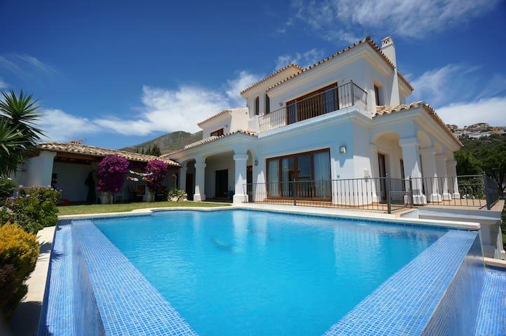 Amazing Villa w/ Panoramic Sea View #villanoaspain