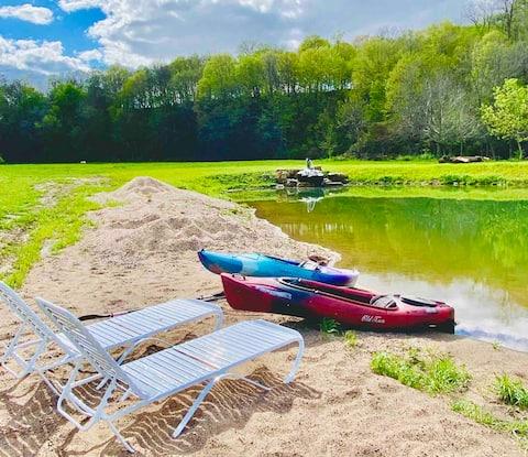 Pond and Stream Paradise!