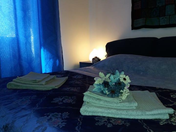 Terme e relax in campagna camera blu