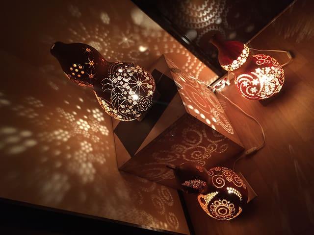 和のあかりをたのしむ家 room 1 - Namerikawa - Casa