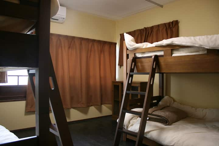 A bed in our Female Dormitory with free breakfast!