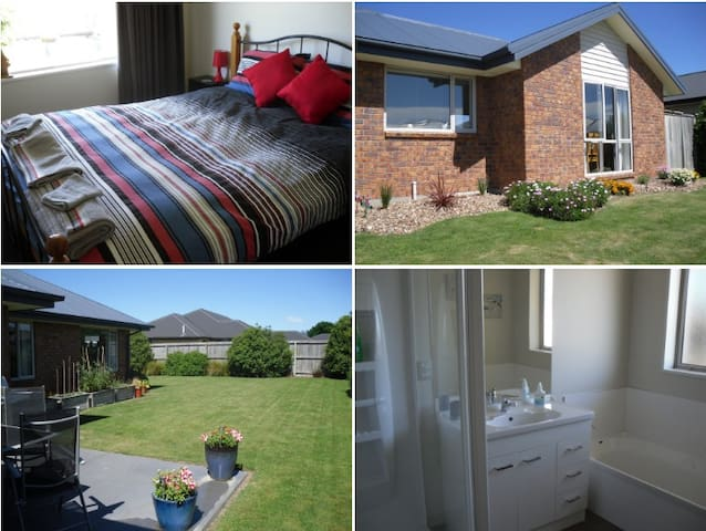 Quiet, clean, safe area, short 5 min. walk to Town - Rangiora - Hus