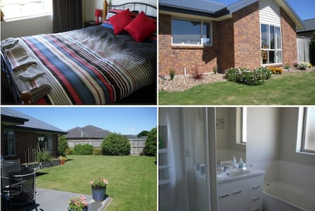 Quiet, clean, safe area, short 5 min. walk to Town - Rangiora - Haus