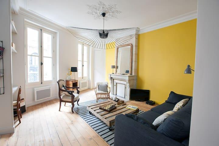 Appartement de standing de 53m2 décoré avec goût - Bordeaux - Appartement
