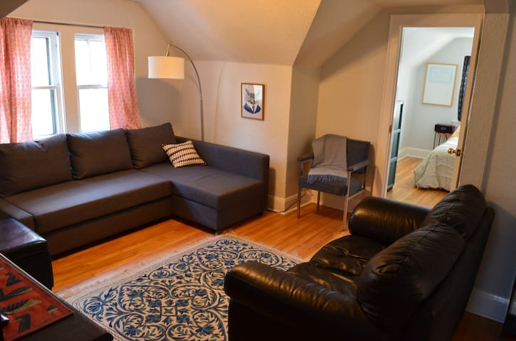 NE Minneapolis Hideaway - Mineápolis - Apartamento