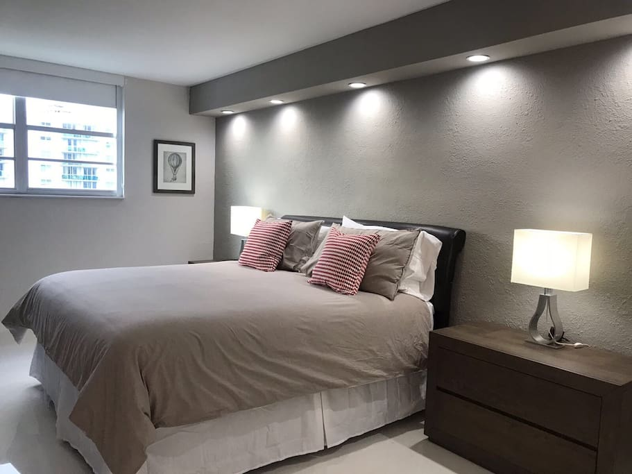 Máster Bedroom / bed King Size