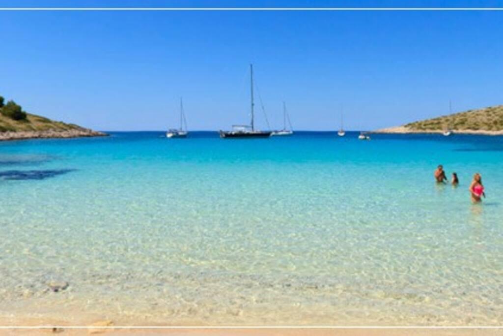 Lojena beach Kornati National park