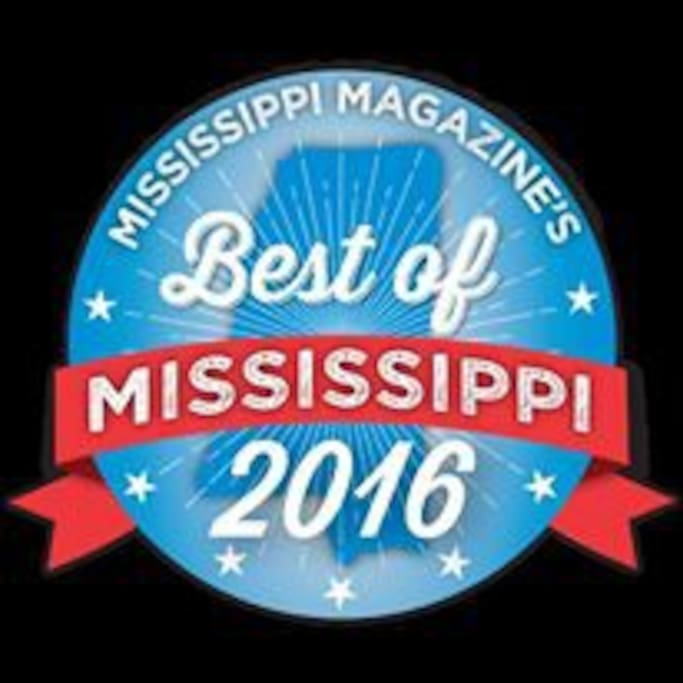Voted Top Five Best Bed and Breakfast in Mississippi. Voted Best Place to stay in Laurel.