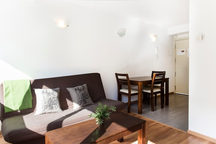 Apartamento estandar de 1 dormitorio. vta1bd