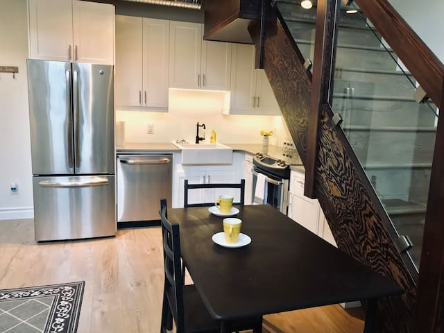 Cozy suite with loft