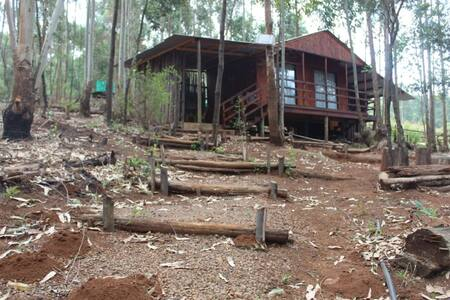 6 sleeper Moonlight Cabin at Shiyalungubu Dam