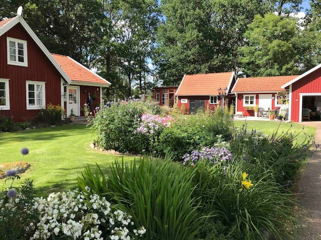 Åslemåla, a beautiful place on the country side