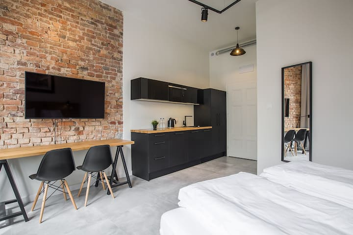 Loft Apartment Poznań Center 4c