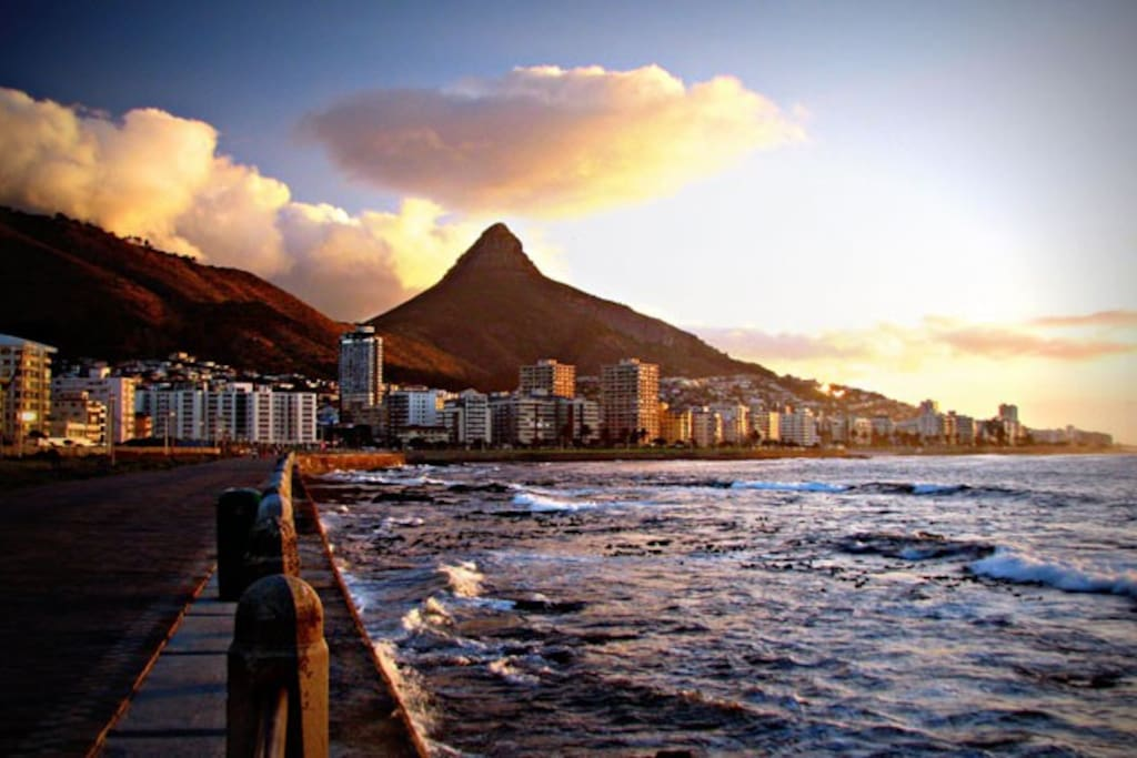 Ideally located in best part of beautiful Mouille Point