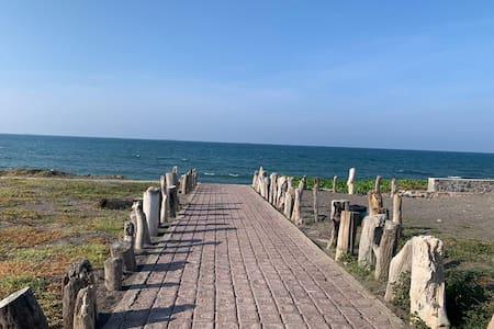 Hermosa residencia en la playa . Lomas del Sol
