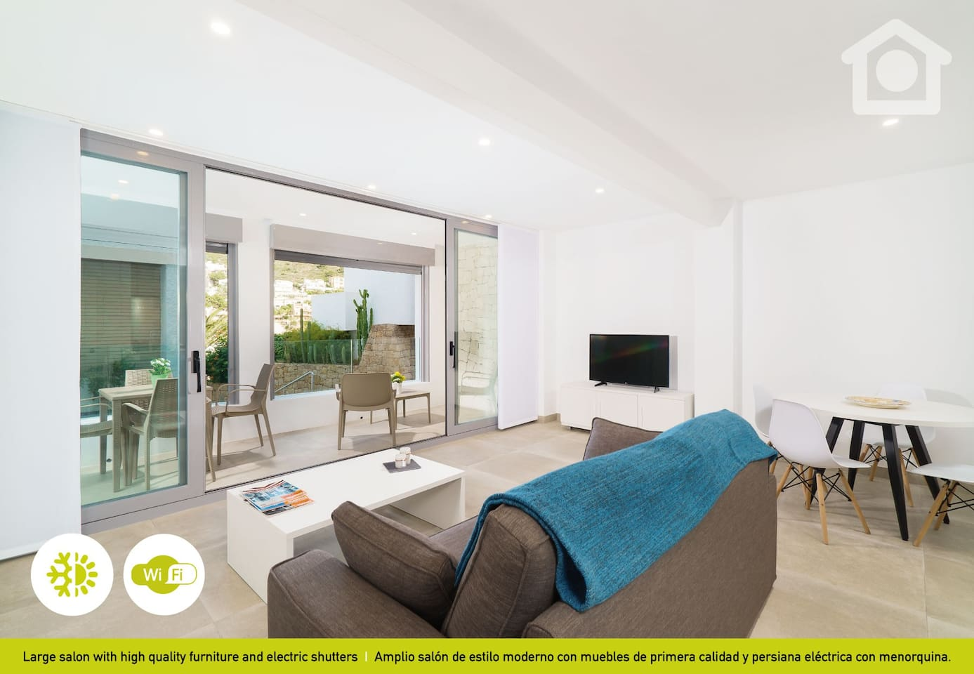 Solhabitat Brand New Apartment In El Portet Apartments For  # Muebles House And Home