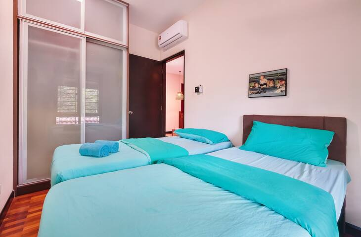 Double single bed