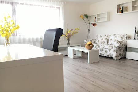 Quiet sunny room with terrace in our family house