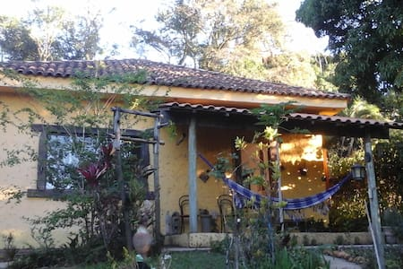 Quartos próximo ao Inhotim, contato com a natureza - Brumadinho - Casa