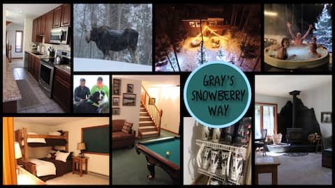 Snowberry Way- Early Winter Ski/Ride, Grays 1bd