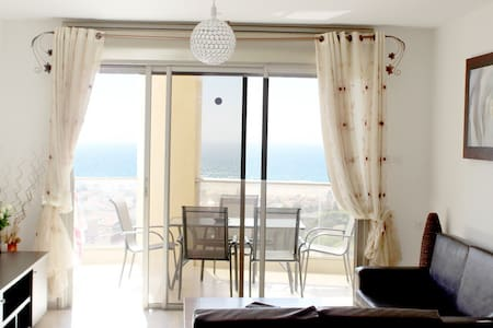 Near the sea amazing view in Ashdod - Apartemen