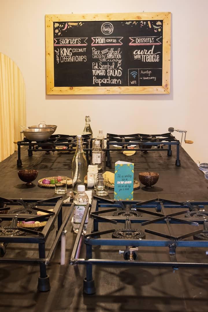 Our cozy Kitchen!