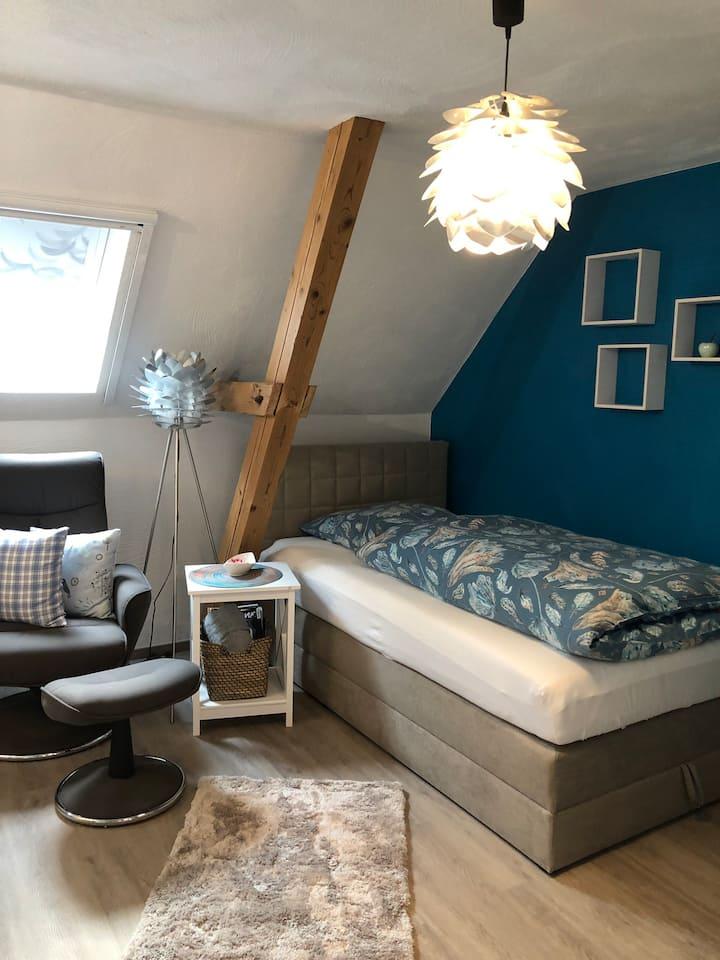 Niedliche Wohnung auf Reiterhof Wasserburg Anstel