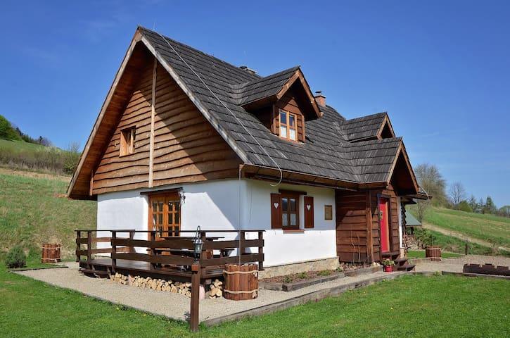 Stylowa Chata w Bieszczadach