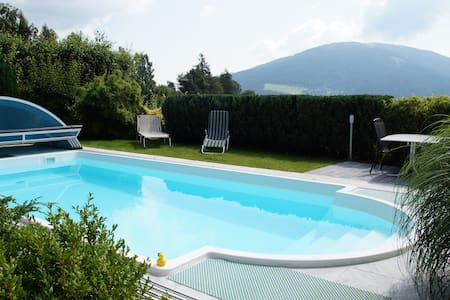 Apartment Sunnseitn am Verditz - Pool & Parkplatz