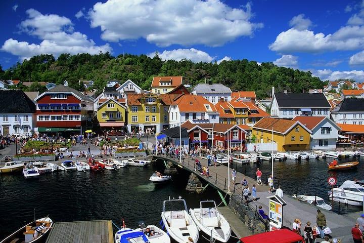 Leilighet i sentrum Kragerø. Gamle Kragerøvei 3.